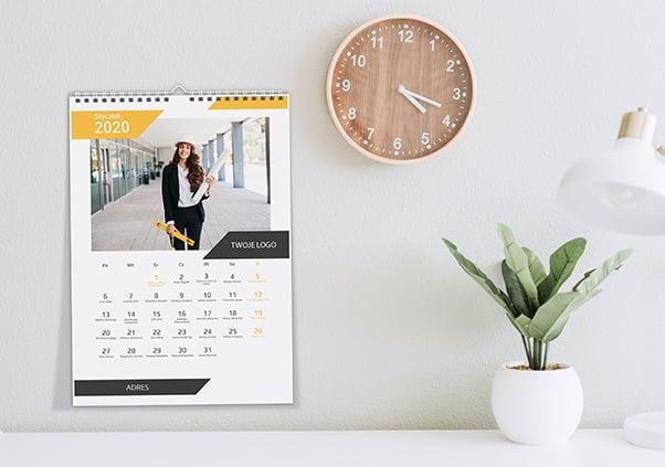 Kalendarz A3 Pion i Poziom