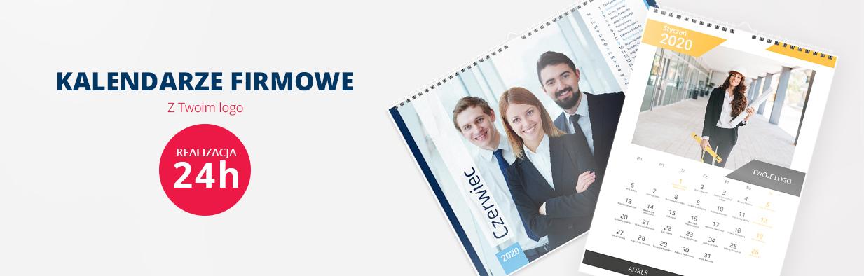 Kalendarze firmowe z Twoim logo